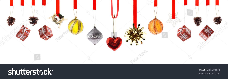 各种高分辨率圣诞装饰品