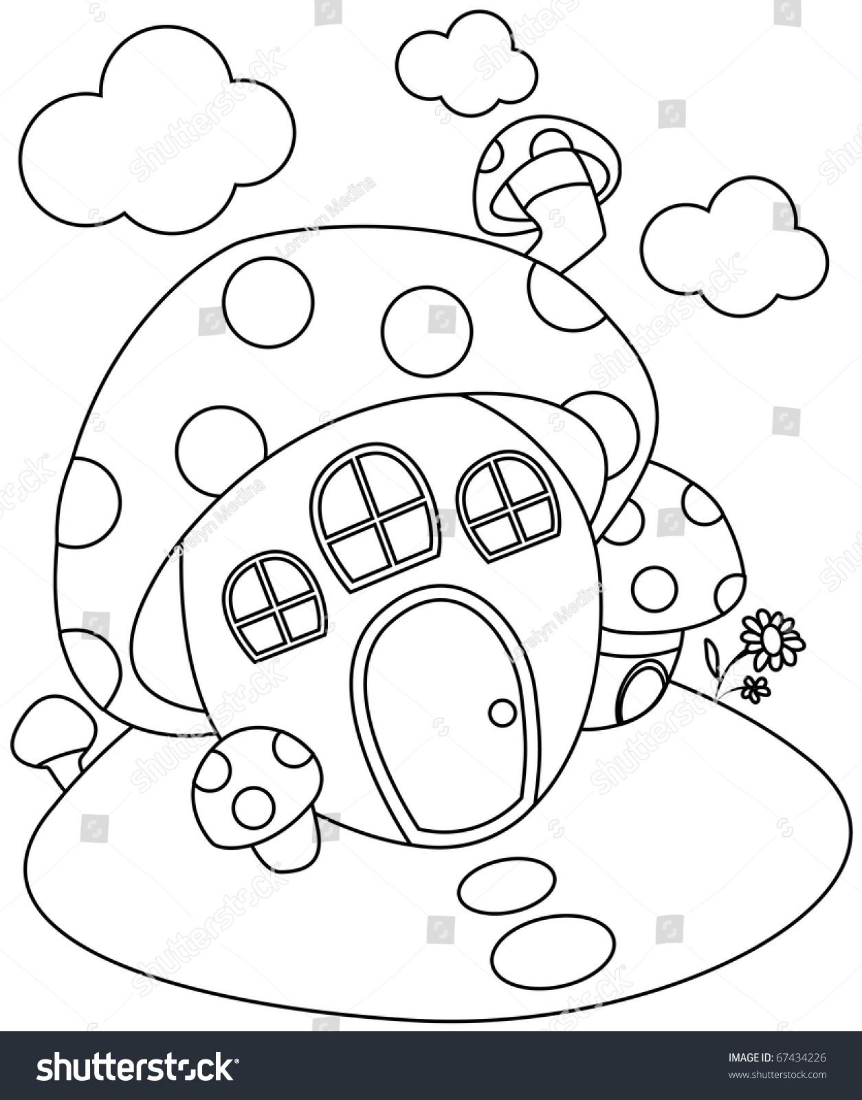 创意房子简笔画可爱