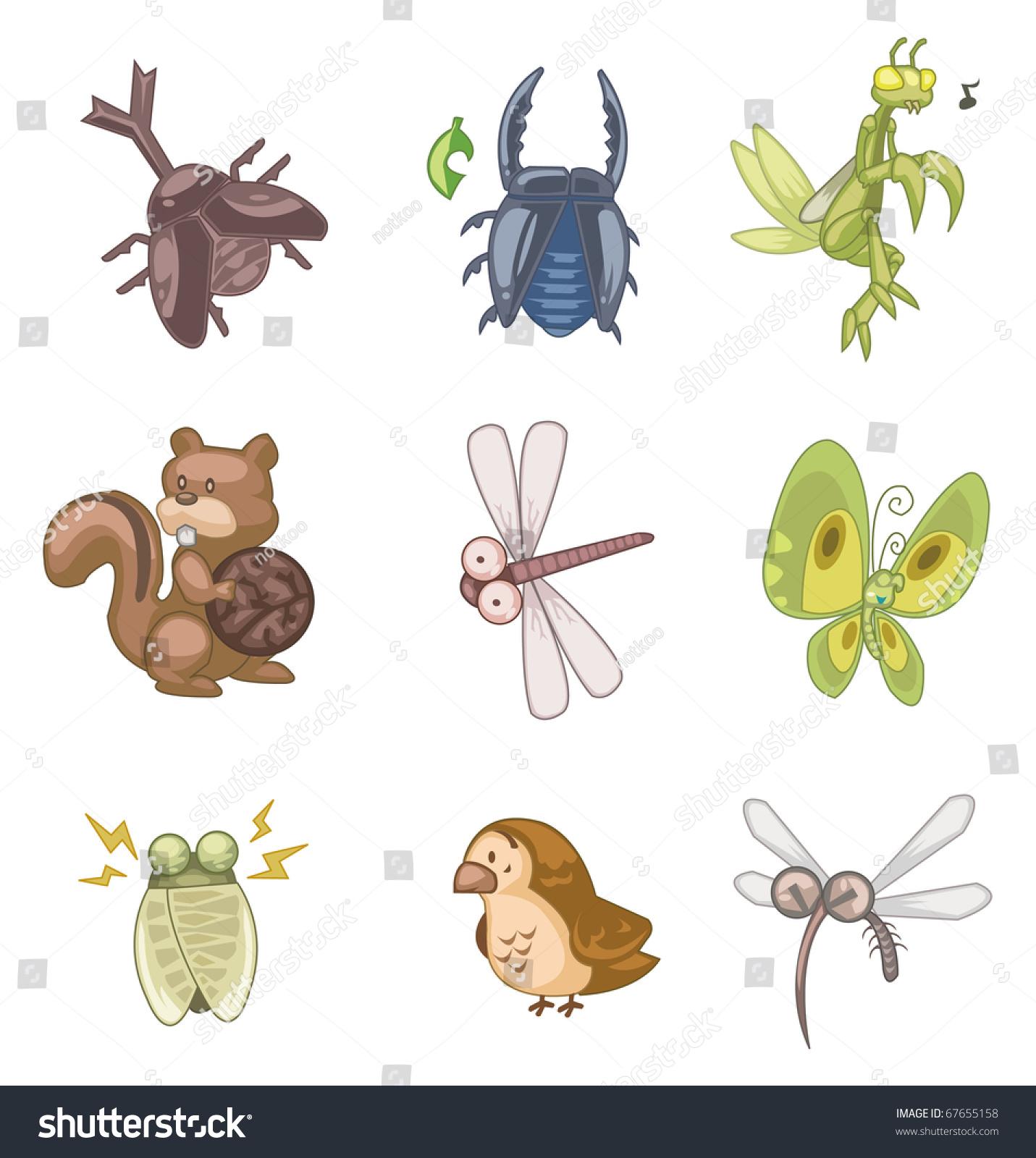 日历手机图标昆虫素材