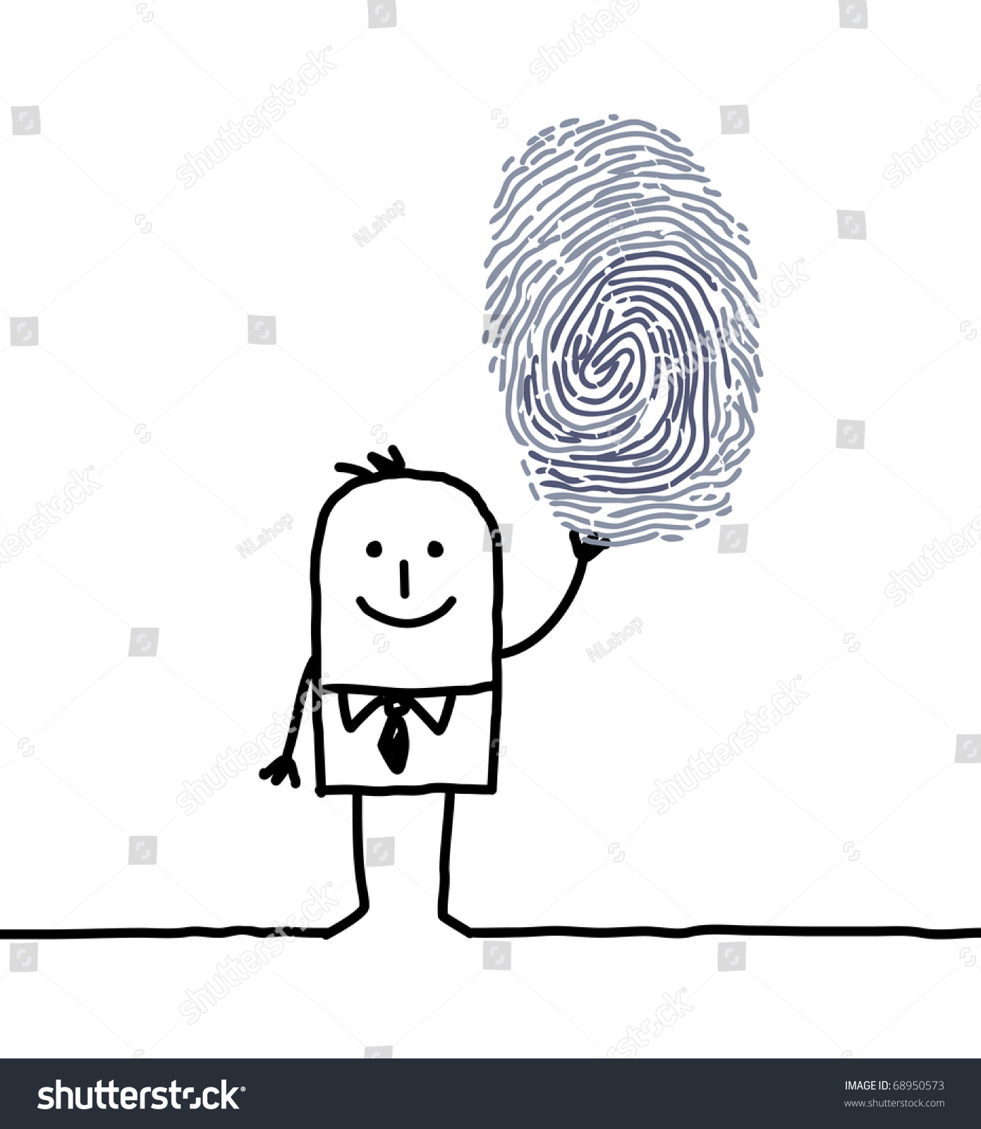 手绘创意微信头像