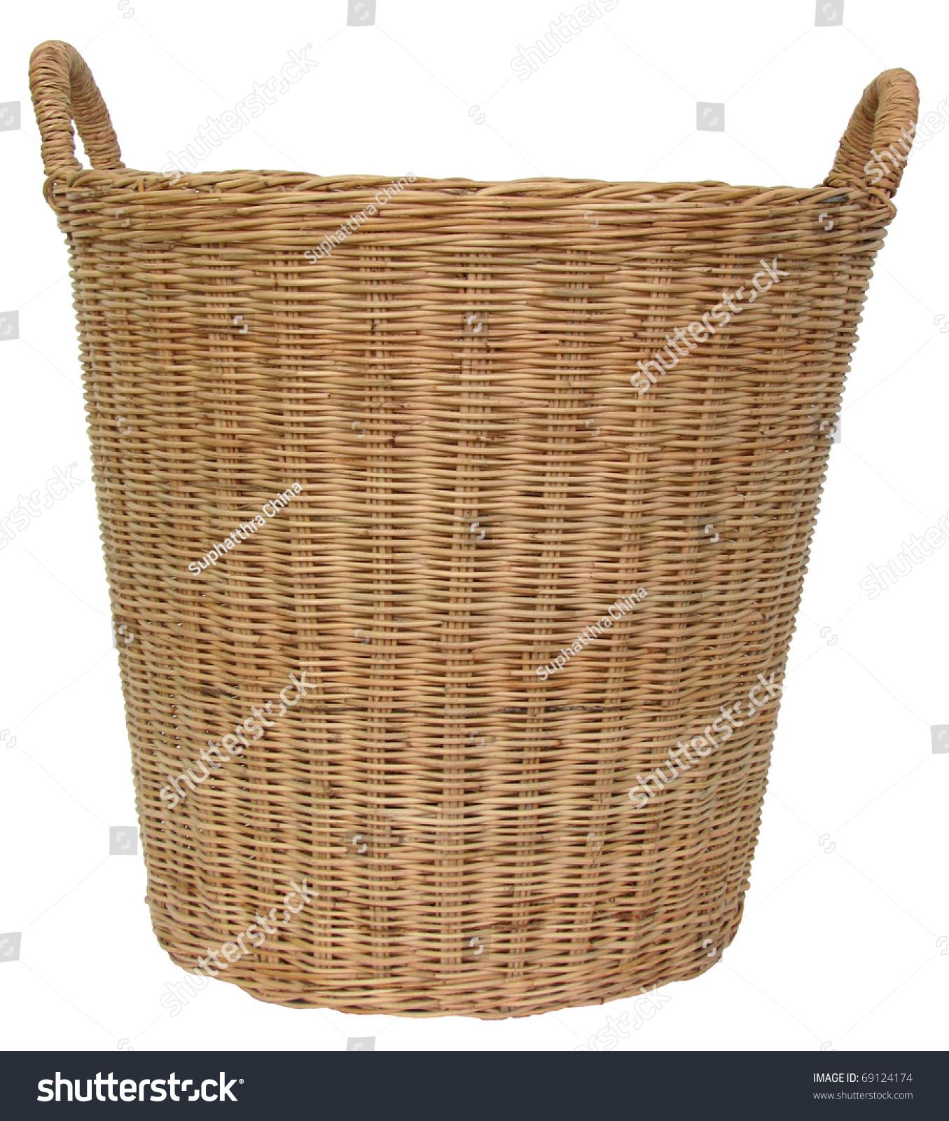 泰国柳条篮子是手工制作的