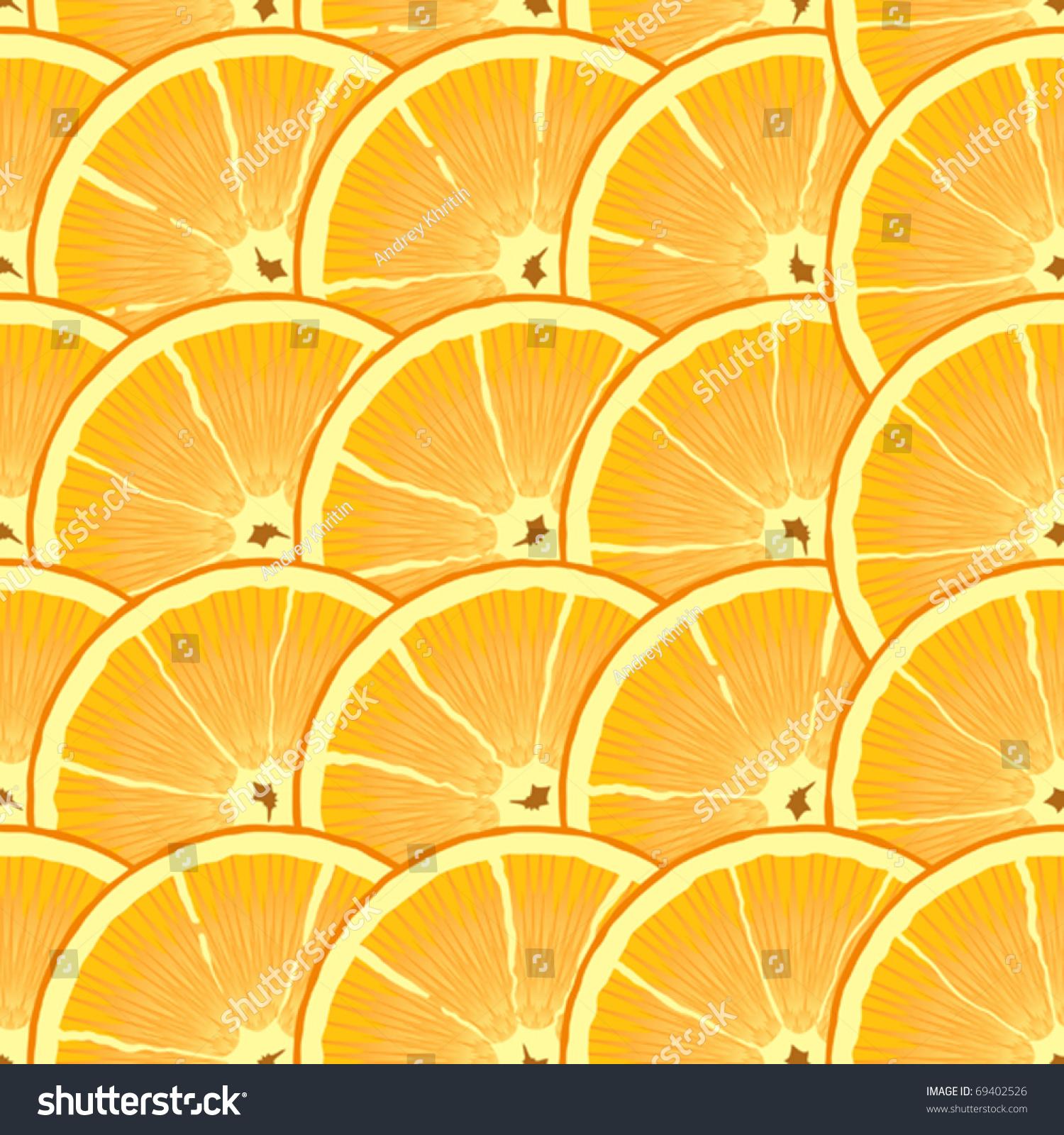 ppt背景图素材橙色元素