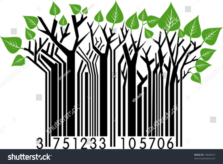 春天的条形码-插图/剪贴图,符号/标志-海洛创意()-合.