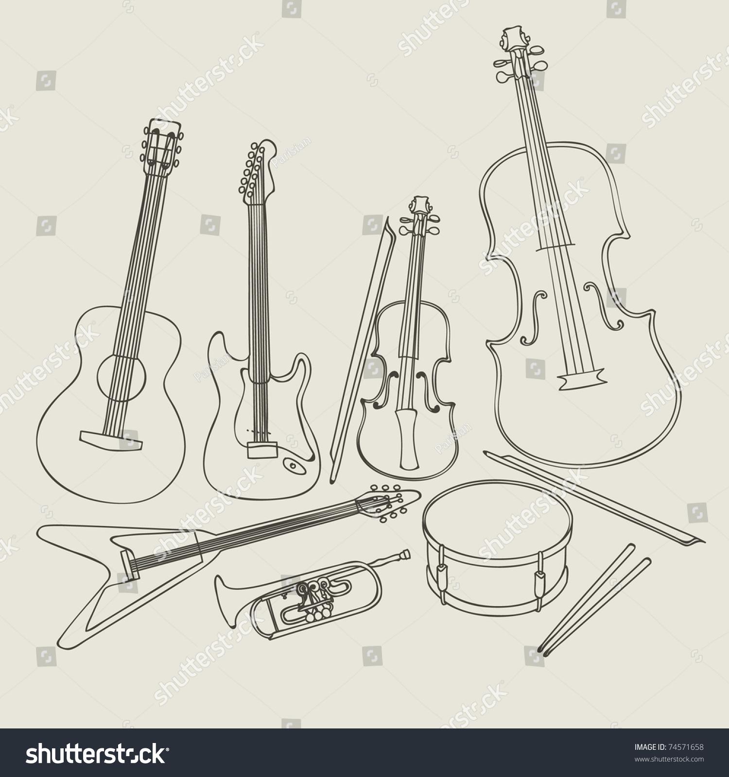 可爱 ppt 乐器