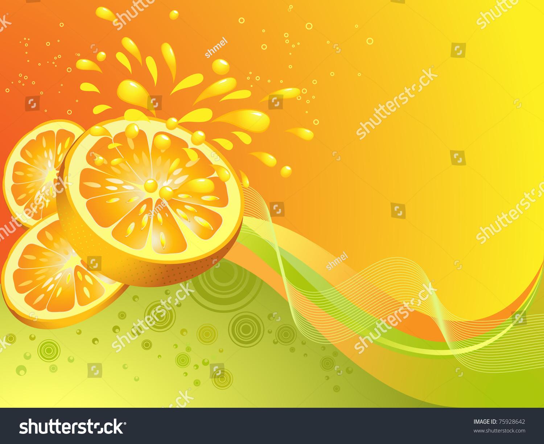 微信背景图 可爱水果