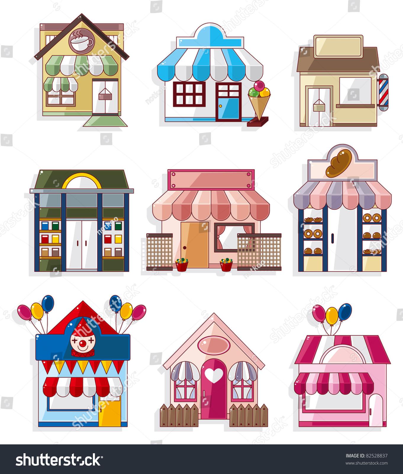 ppt建筑物图标素材