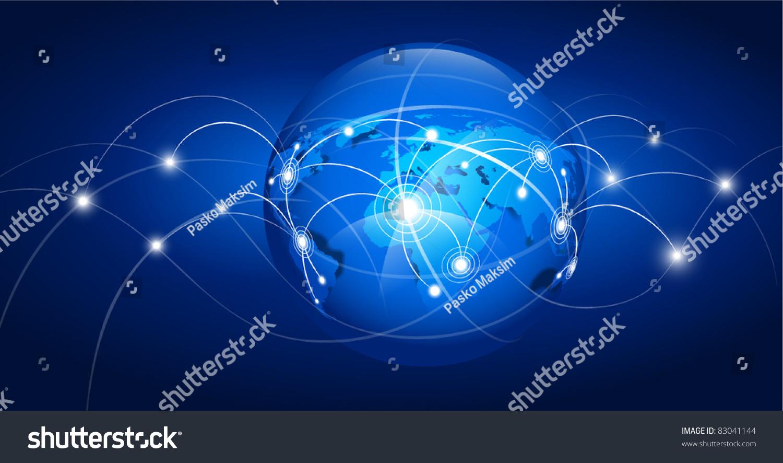 矢量图-背景/素材,科技-海洛创意()-.图片