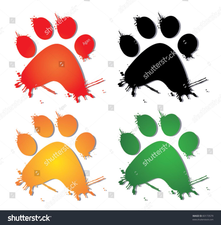 创意动物 矢量图