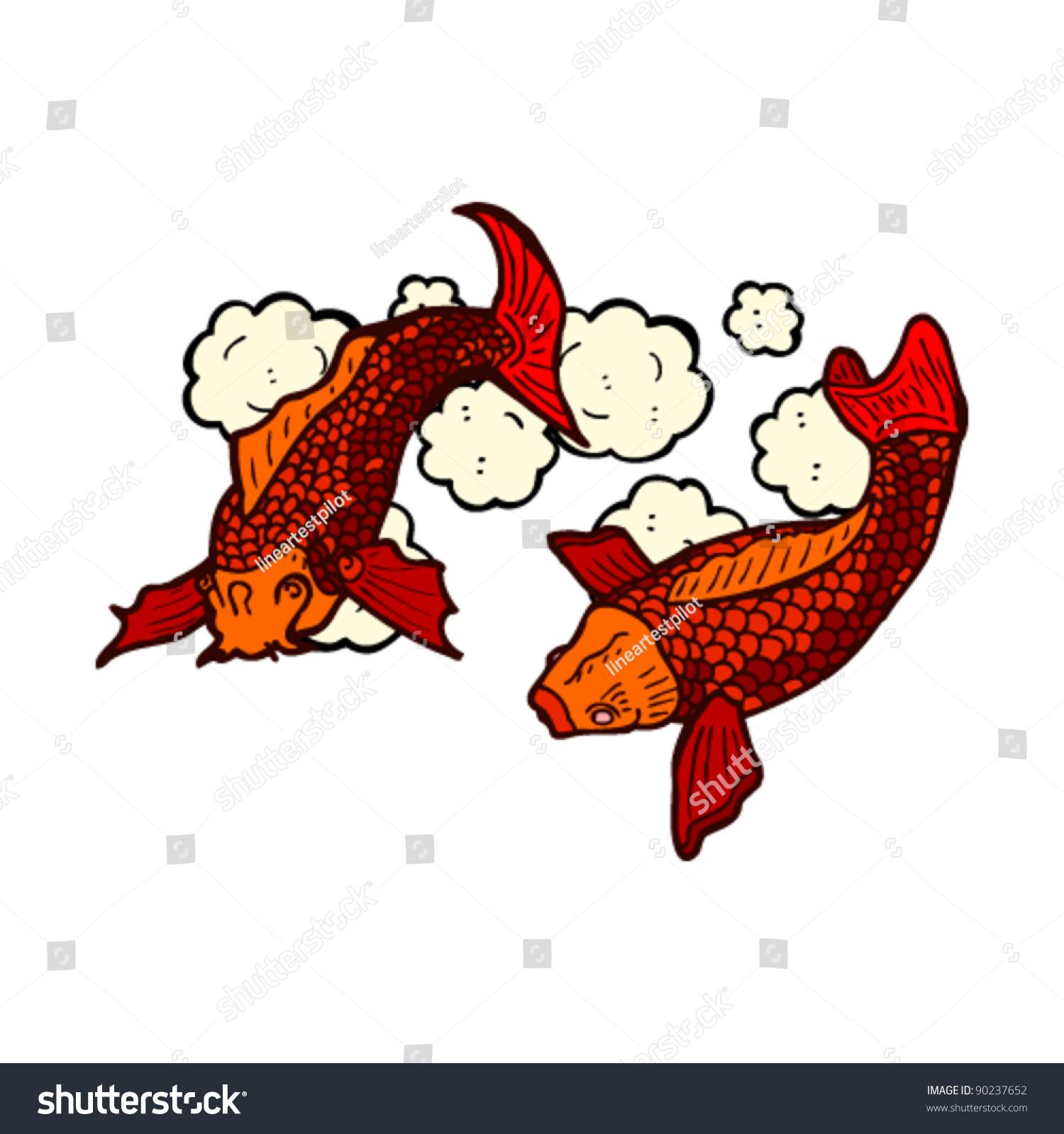 创意 手绘插画鱼
