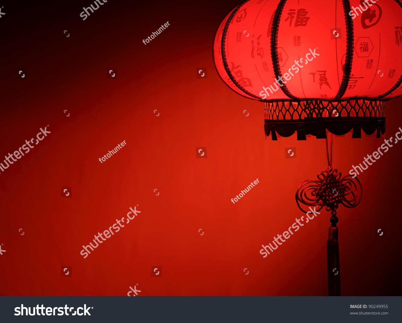"""中国新年的装饰--""""红灯笼""""的复制空间.-假期,背景/-()"""