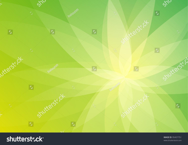 摘要绿色背景壁纸-背景/素材