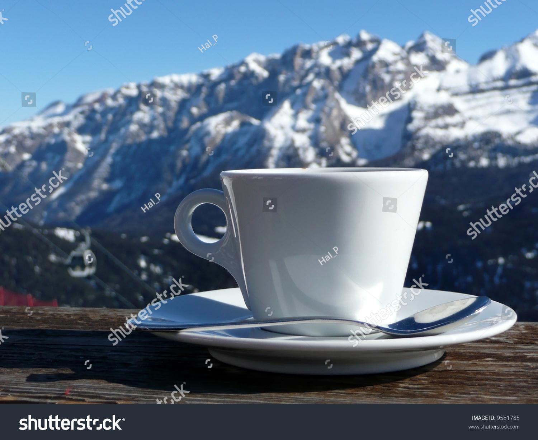 微信茶杯头像风景